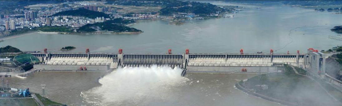 三峡ダム全景