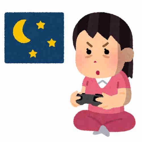 徹夜 ゲーム ゲーマー