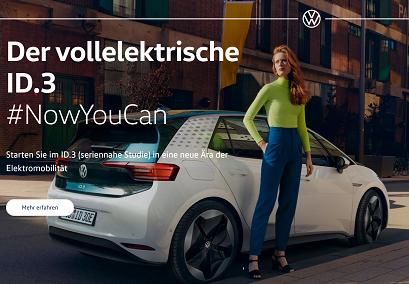 VW ホームページ EVのID3