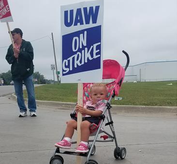 40 UAW ストライキ