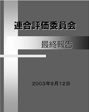 30 表紙 連合評価委員会 最終報告