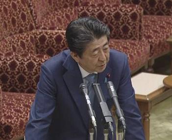 NHK 安倍答弁