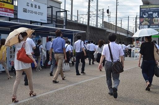 三河豊田駅前