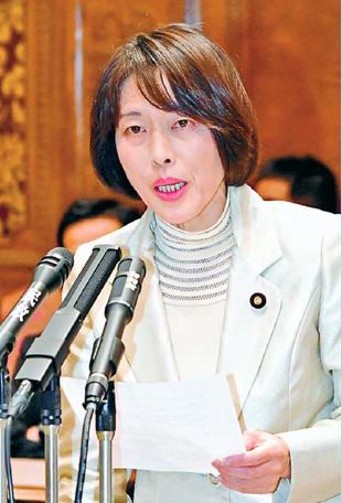 田村智子参院議員 20200130