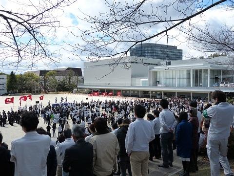 トヨタ労組 2015春闘集会