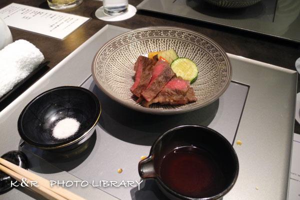 2019年12月15日11旬菜・和牛ステーキ野菜5種盛り