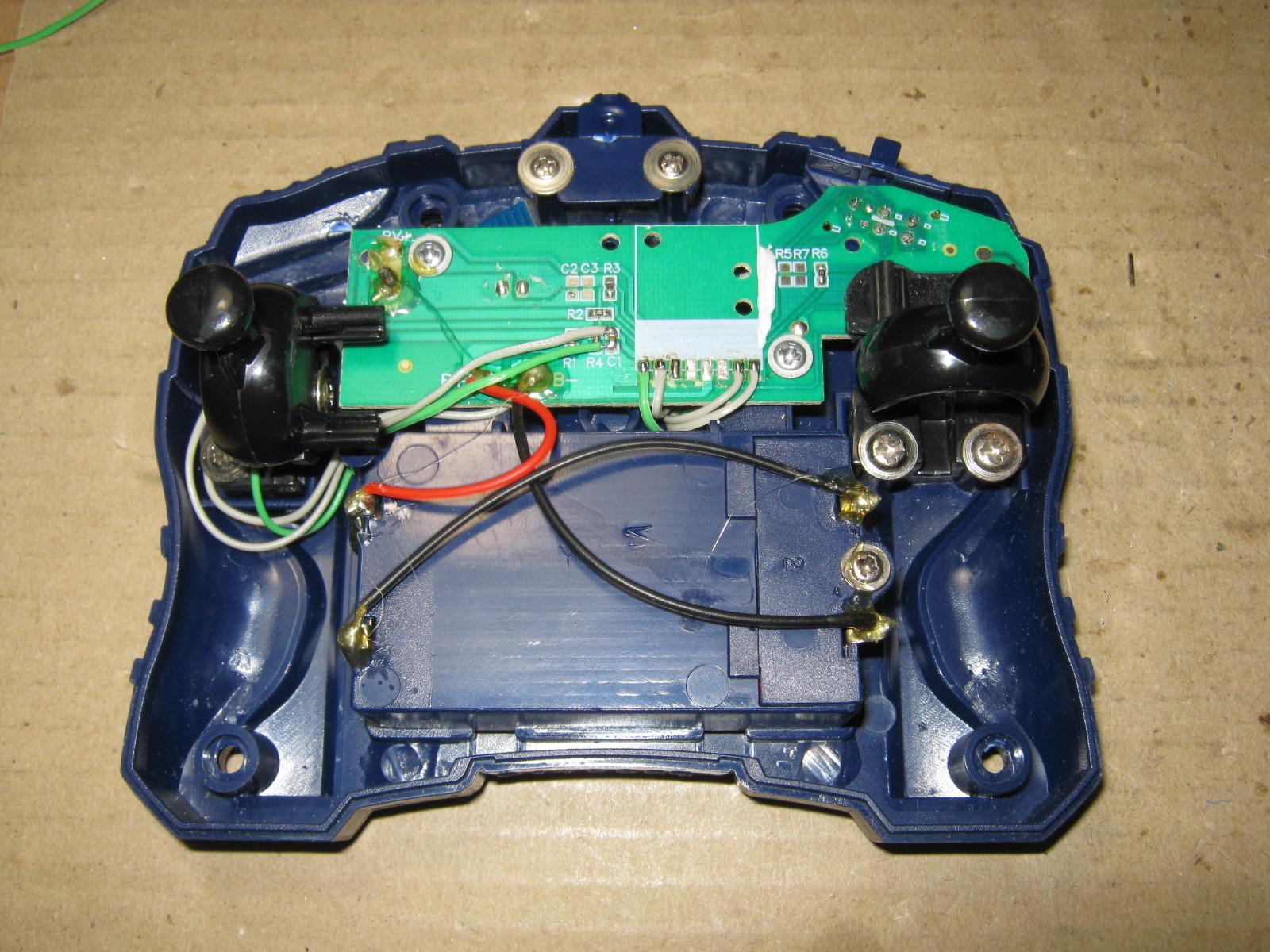 CCP社W-DRIVE+(RFモジュール換装)コントローラ側換装