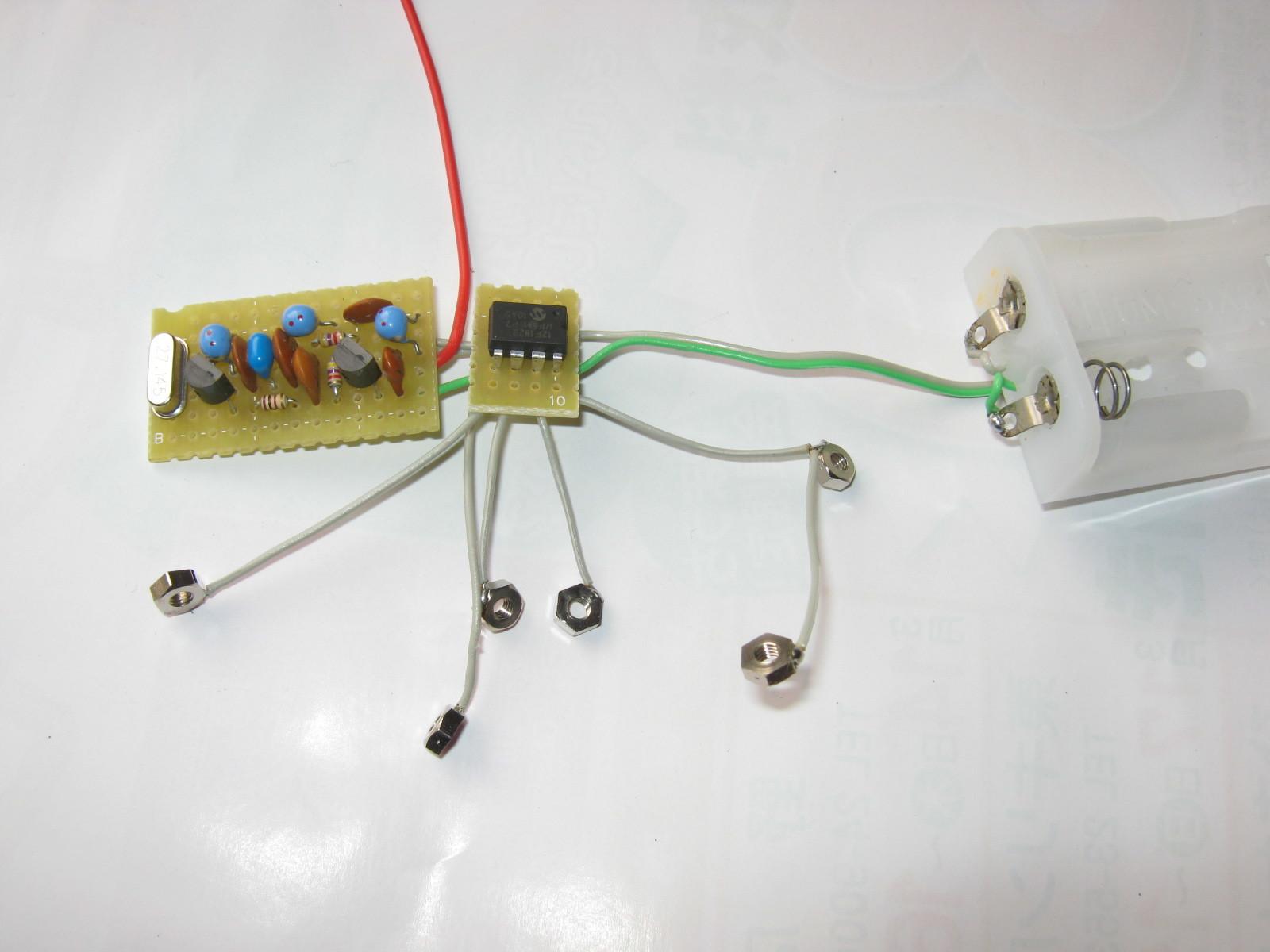 電動乗用ラジコンカー(27MHzTX2コントローラ製作)基板