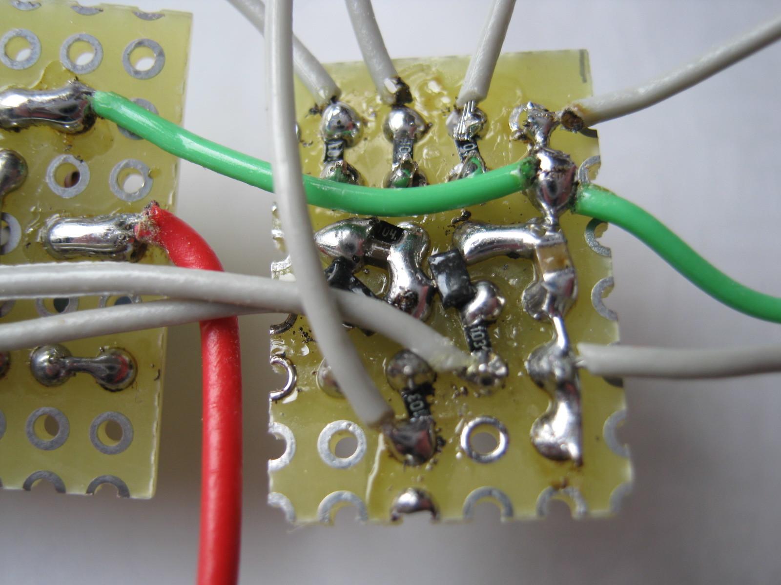 電動乗用ラジコンカー(27MHzTX2コントローラ製作)基板5