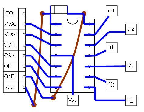2.4GHzラジコン用ファームウェアの改善(基板パターン検討)16F1503・CCP・SMD②