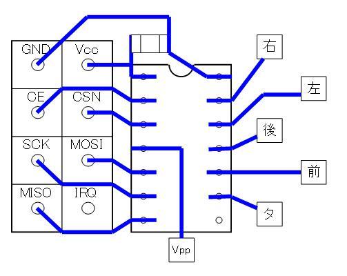 2.4GHzラジコン用ファームウェアの改善(基板パターン検討)16F1823・若番ピン・DIP④