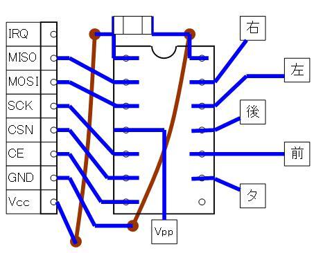 2.4GHzラジコン用ファームウェアの改善(基板パターン検討)16F1823・若番ピン・SMD②