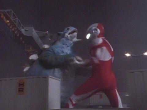 ウルトラマングレート vs コダラー