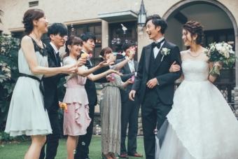 コロナの最中に結婚式