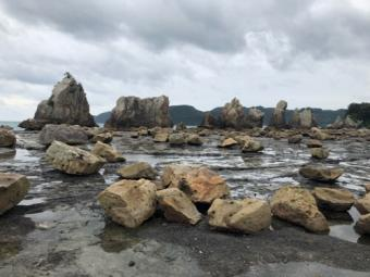 串本_橋杭岩の休憩所