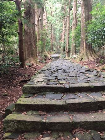 那智大社_大門坂の石畳階段