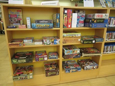 オウル図書館ボードゲーム
