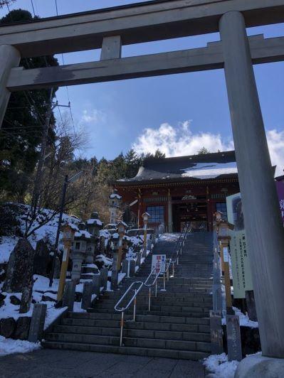 石鳥居前_武蔵御嶽神社