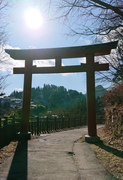滝本駅入口鳥居_武蔵御嶽神社