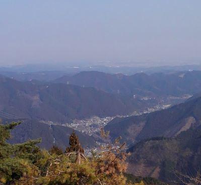 梅宮本家から見える景色_武蔵御嶽神社