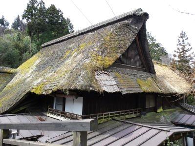 茅葺き屋根2_武蔵御嶽神社