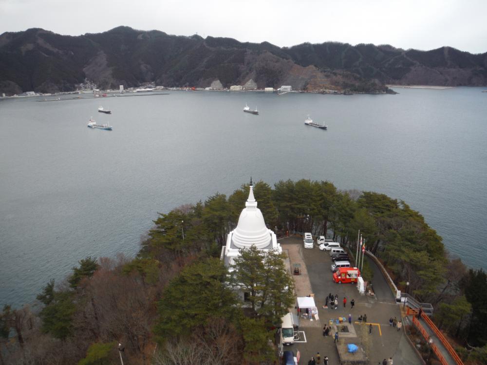 2020年元旦釜石湾
