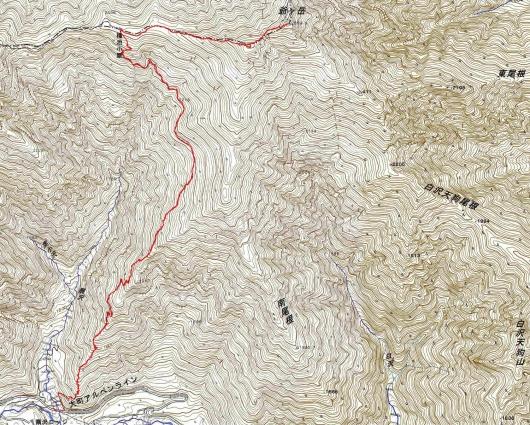 190926 爺が岳軌跡