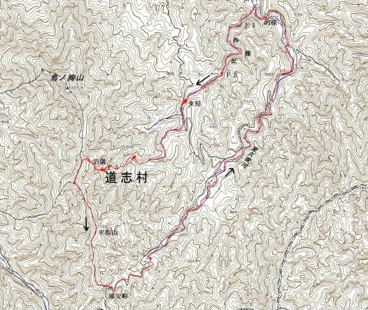 191002 西棚沢軌跡