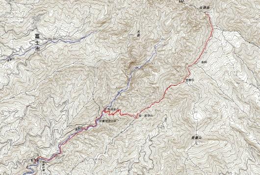 191020 位牌岳軌跡