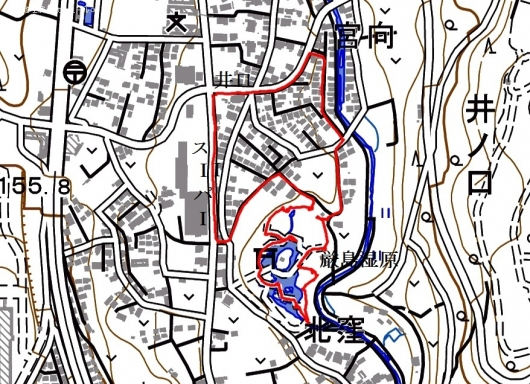 191110 厳島湿原軌跡