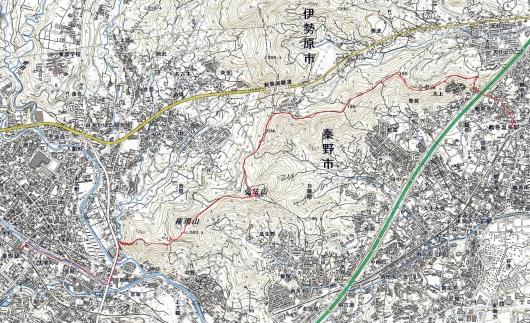 200316鶴巻山稜軌跡