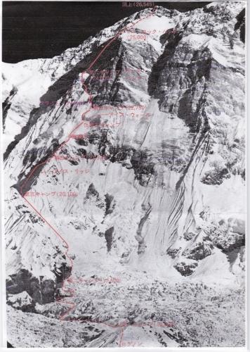 アンナプルナ南壁ルート