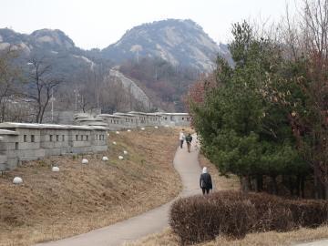 2019年12月7日 仁王山へ ソウル城郭