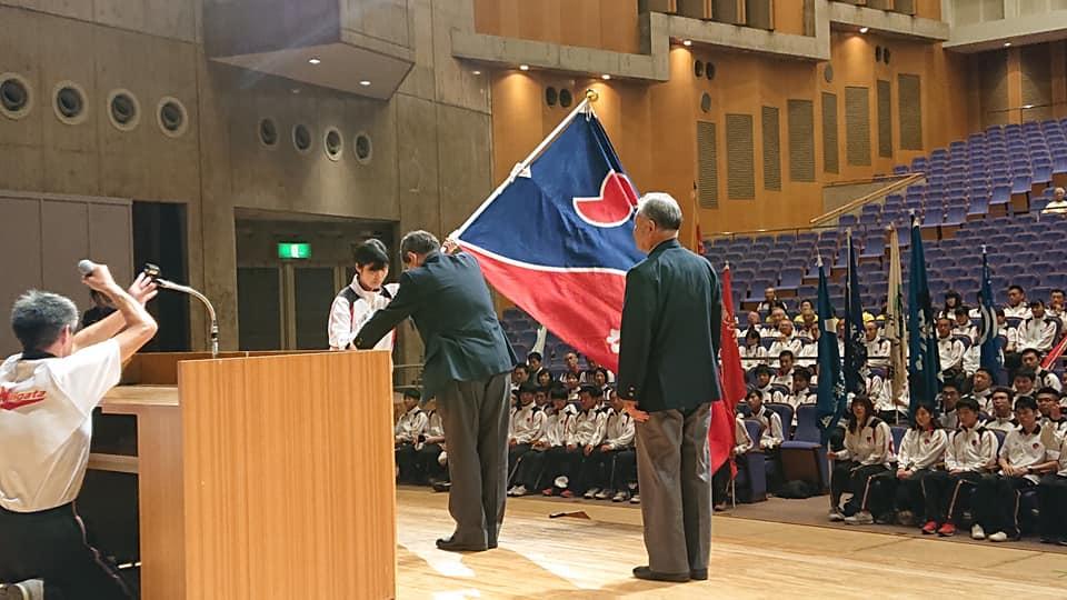 【茨城国体へ、新潟県選手団結団式】-1