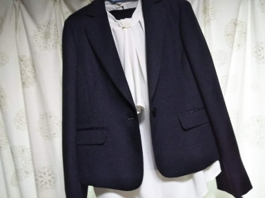 スーツ新調