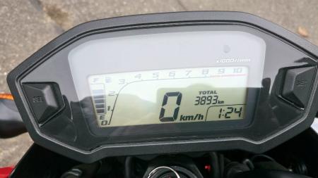 4000km点検1
