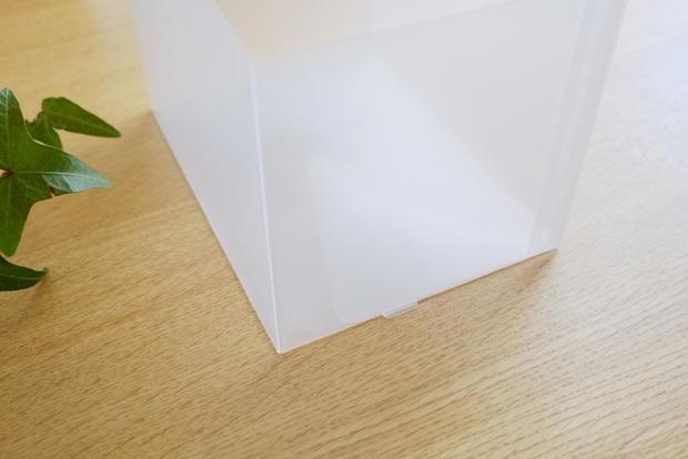 無印・ポリプロピレンシート仕切りボックス・3枚組⑥