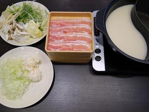 三元豚バラ 食べ放題コース