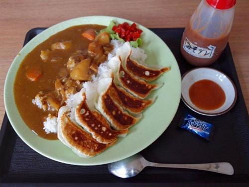 餃子カレー