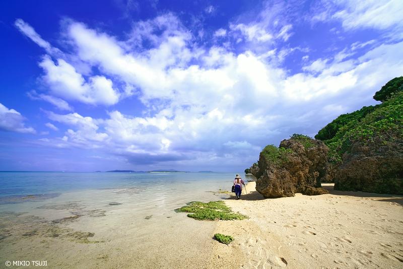 絶景探しの旅 - 絶景写真 No.1262 コーラルビーチにて (小浜島/沖縄県八重山郡竹富町)